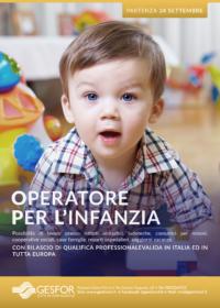 FLYER OPERATORE PER L'INFANZIA